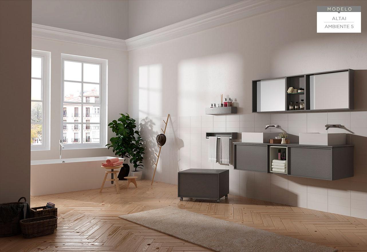 Ba os visobath altai azuval decoraci n muebles de - Muebles de bano diferentes ...