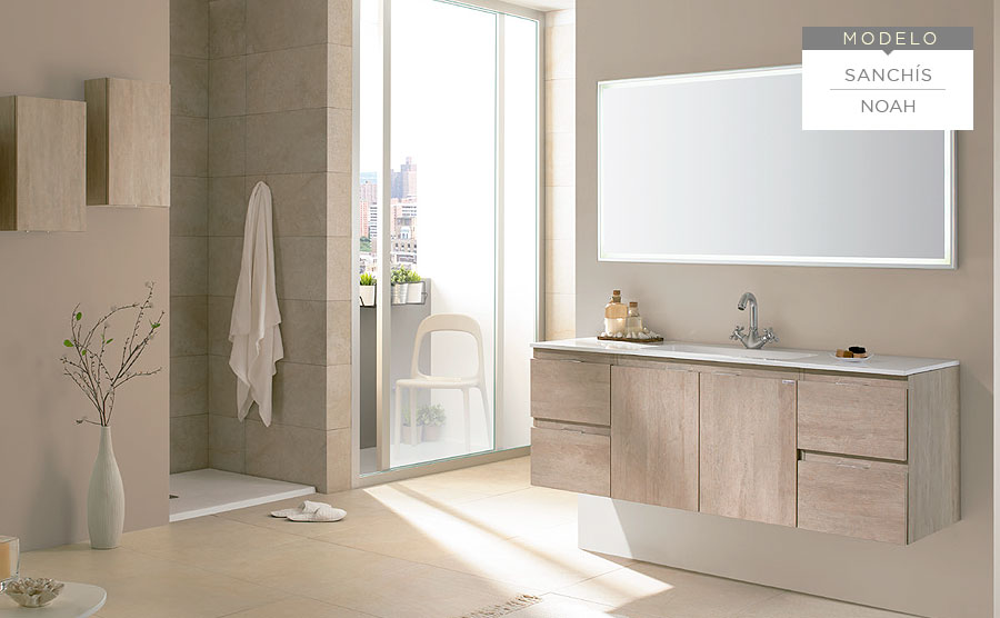 Baños SANCHÍS  Azuval Decoración · Muebles de cocina, baño y